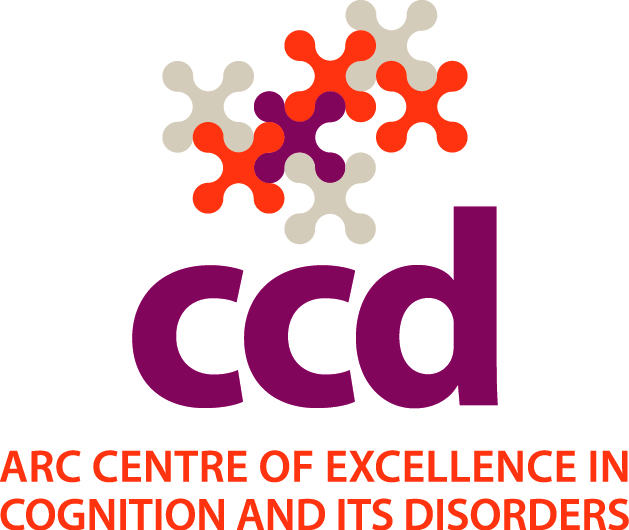 ARC CoE in Cognition and its Disorders logo