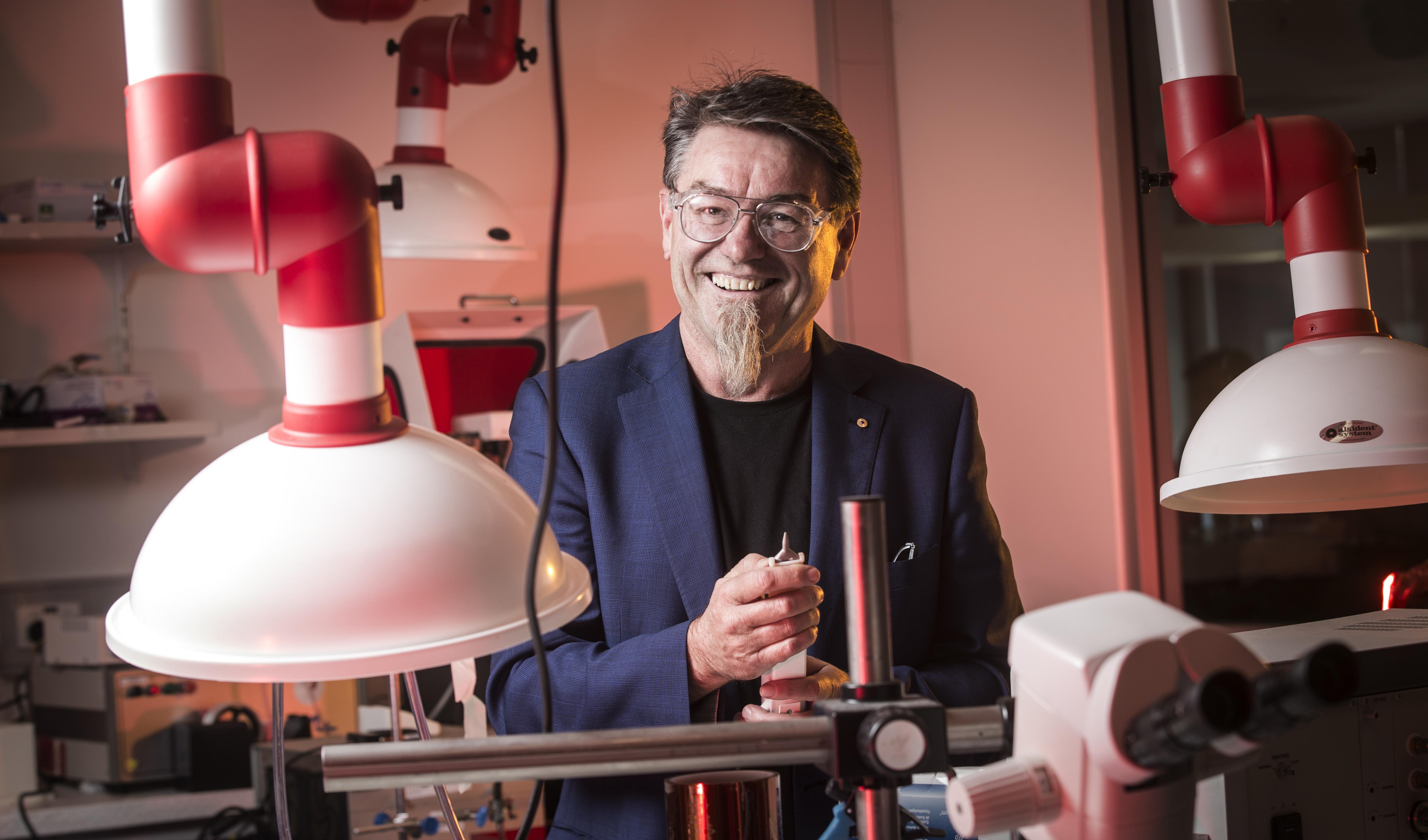 Professor Gordon Wallace, 2017 NSW Scientist of the Year